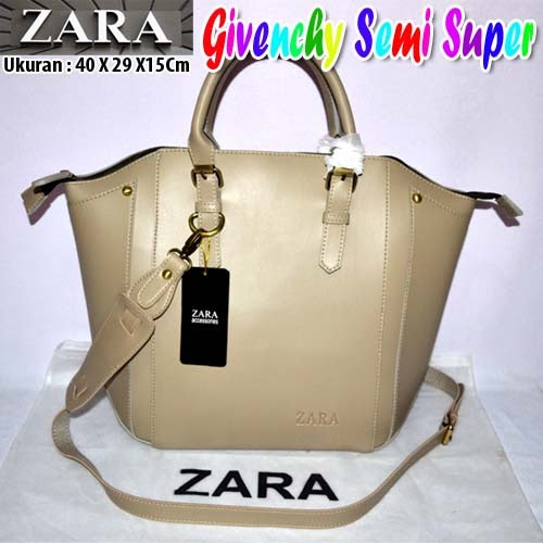 Tas Zara Givenchy Semi Super Crem
