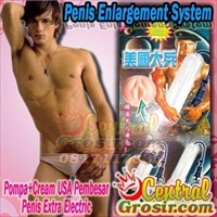 Penis Enlargement System (Pompa+Cream USA Pembesar Penis Extra Electric)