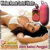 Wireless Remote Control Vibrator (Wireless Peluru Penggeli)