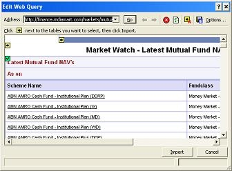 excel here howto excel based mutual fund portfolio tracker