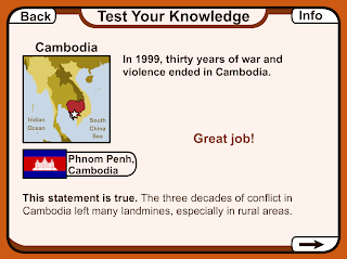 Test your knowledge game screenshot