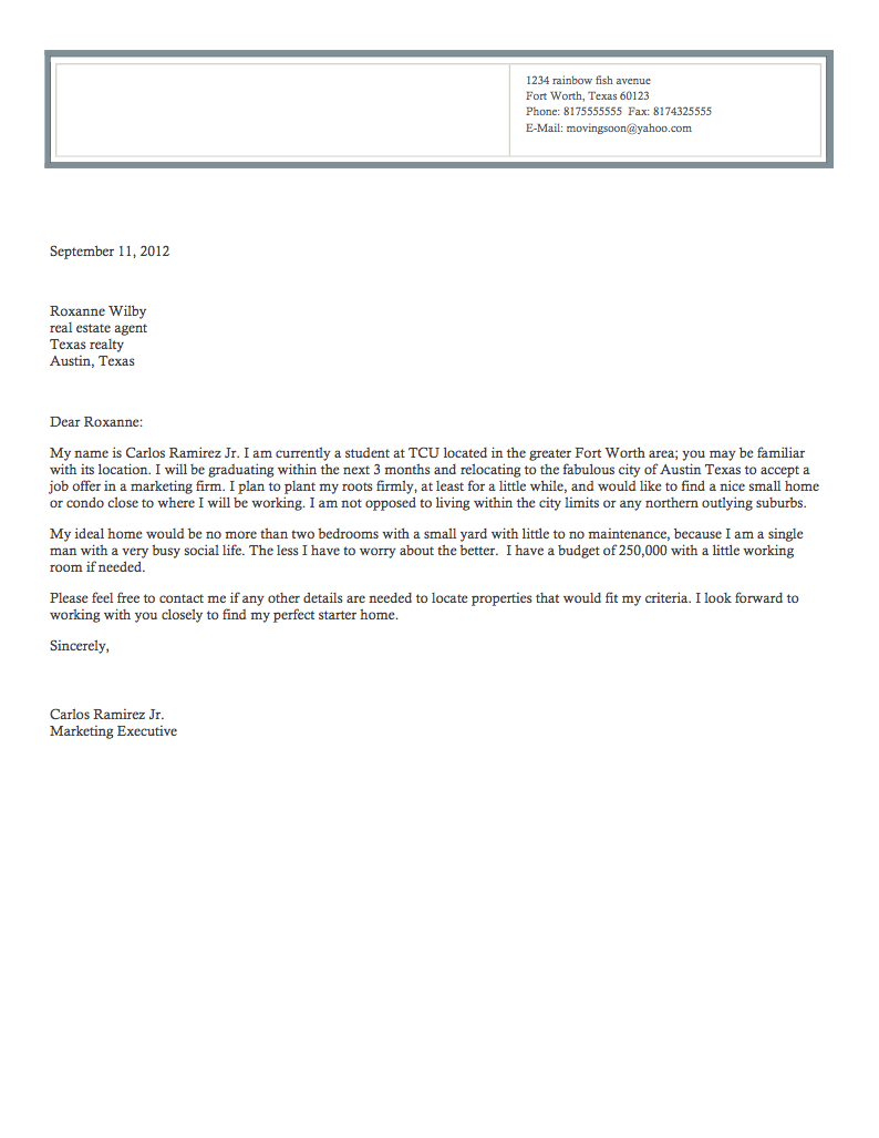 real estate letter thevillas co
