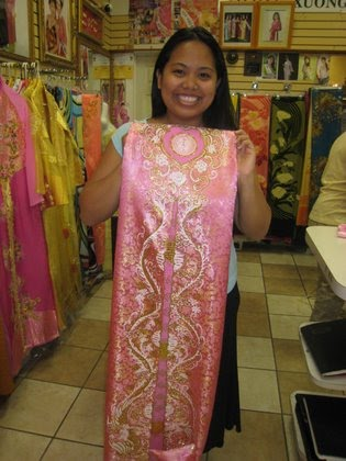 My Ao Dai aka my Vietnamese dress photo 1