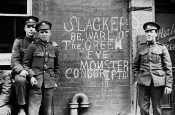 World War I conscription in Australia