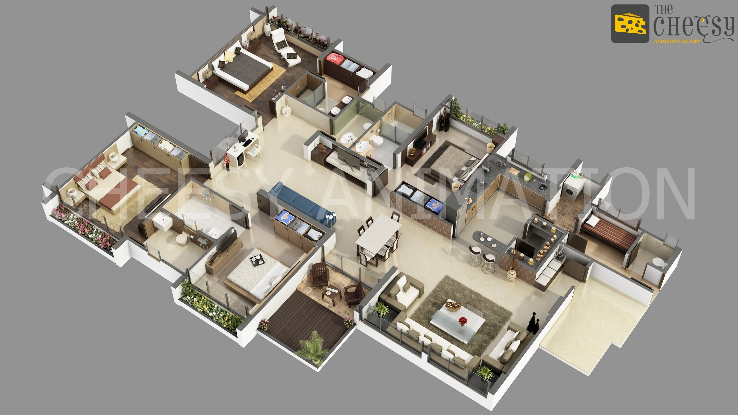 3d floor plan 3d floor plan for house - 3d Floor Planning
