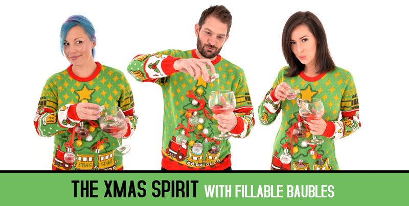 Gin Christmas Jumpers