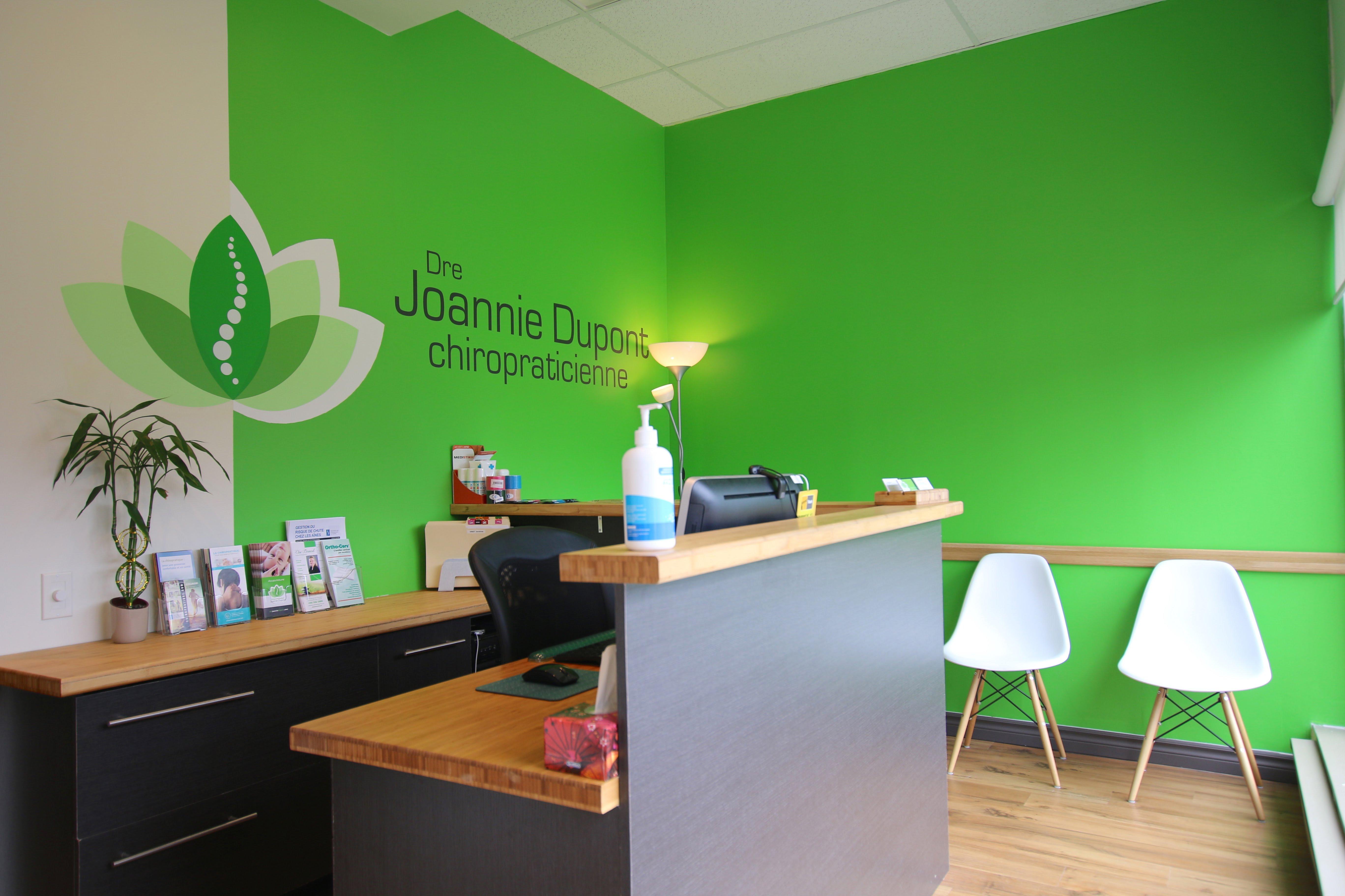 Clinique chiropratique Joannie Dupont à Boucherville