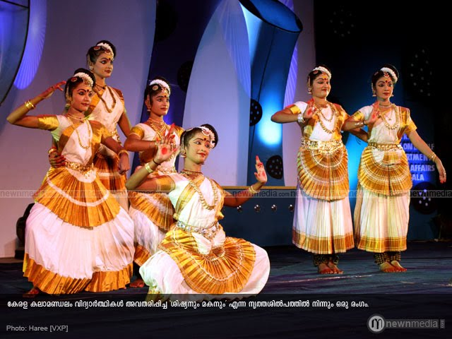 \'Shishyanum Makanum\' - A dance drama by students of Kerala Kalamandalam.