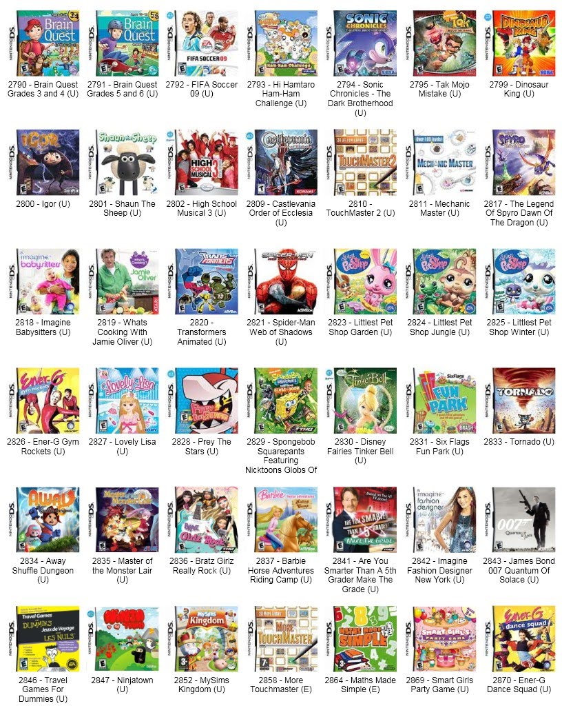 list of dating games for nds Tokimeki girl's side amazing dating sim where you play as a heroine and try to hook up hot guys there's 2 games that have been translated by gokusaishiki.