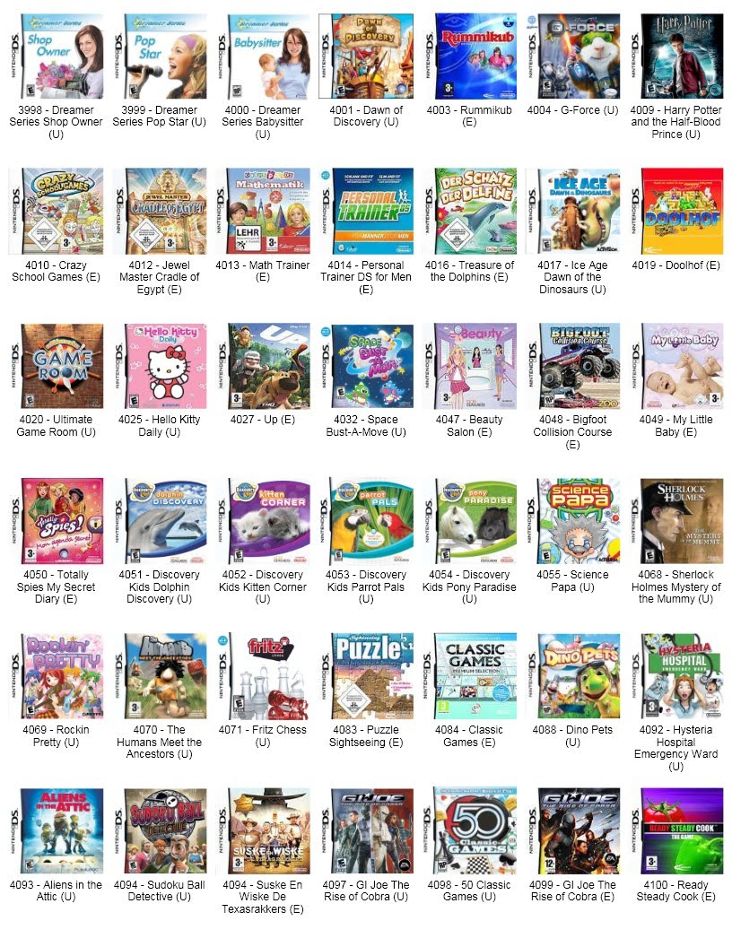 List Of Dating Games For Nds