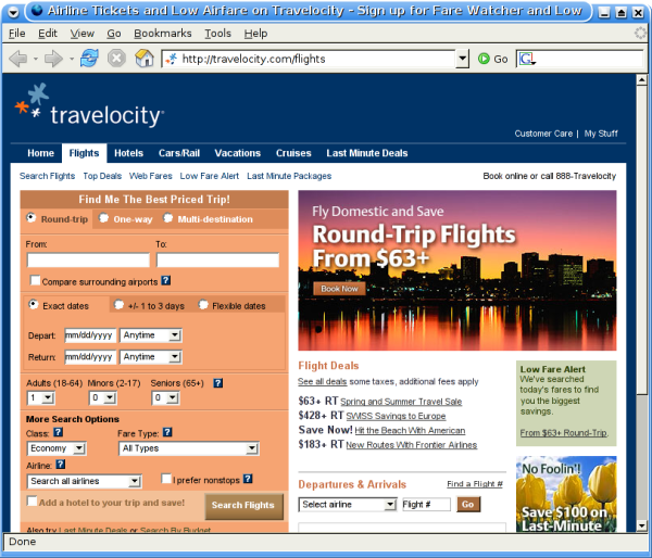 travel sites