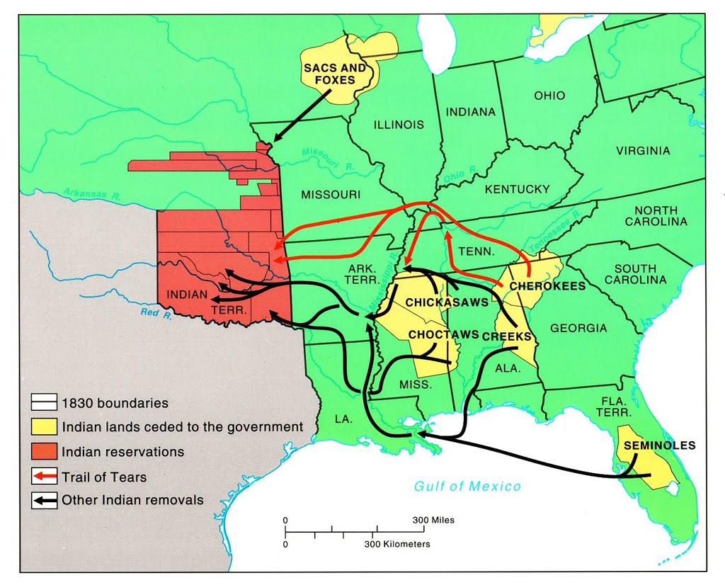 Indian Removal Act - Native American EC