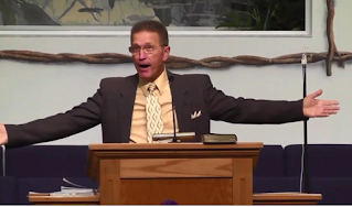 """Don't you be ashamed you go to a church with male leadership. Every church that's right with God oughta have a sign: ""Male Leadership."" Because that's the only kind of leadership, both from Adam all the way to the last part of the Bible. It's all been male. This is a man's world!"""