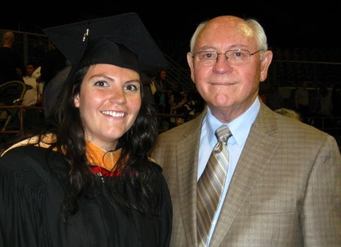 Jim with granddaughter Anna Snyder