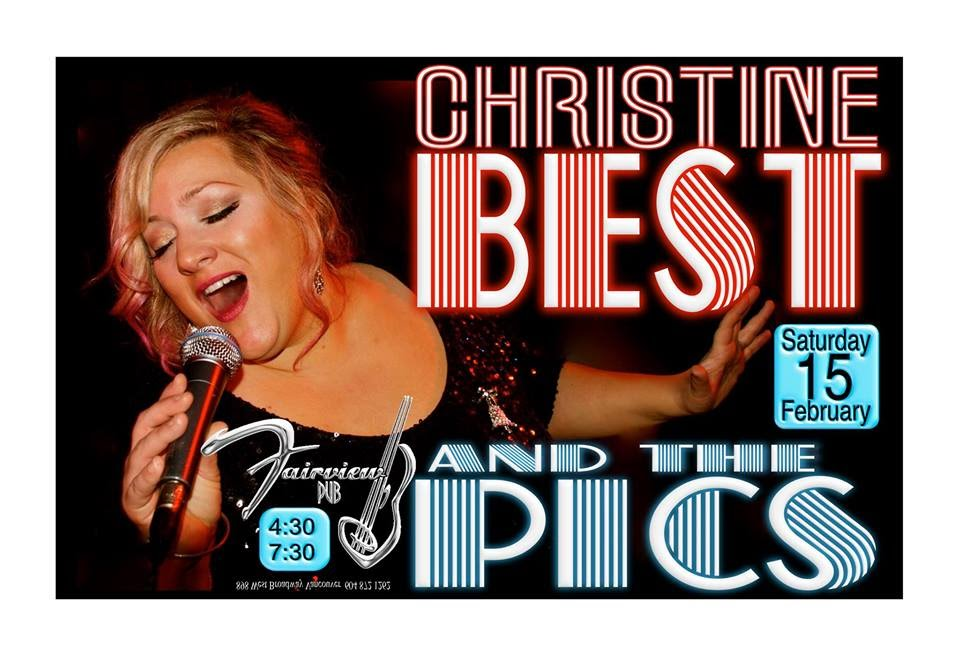 Christine Best and the Pics at the Fairview Feb 15 2014 4:30-7:30