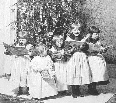 Image result for victorian era christmas