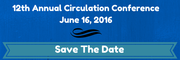 The 12th Annual Memphis Area Circulation Conference is June 16, 2016