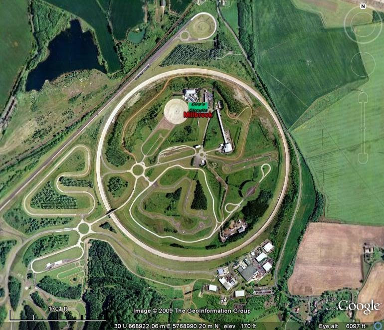 another test-track featured in Top Gear, the Millbrook Proving Ground.