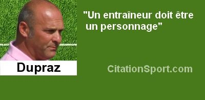 citation foot dupraz