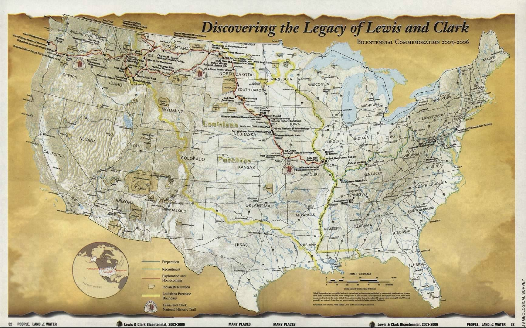 Simplicity image throughout lewis and clark printable map