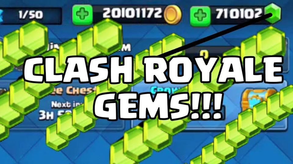 clash royale hack free gems no human verification 2018
