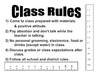 examples of discipline in the classroom