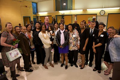 Members of the Clemente Class of 2012 with faculty