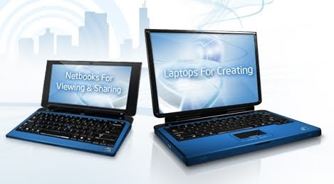 netbook, notebook, netbook x notebook, diferença netbook notebook