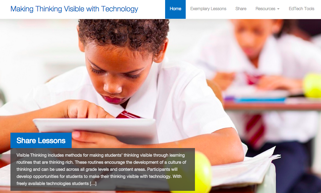 Making Thinking Visible with Technology (MTVT.org)