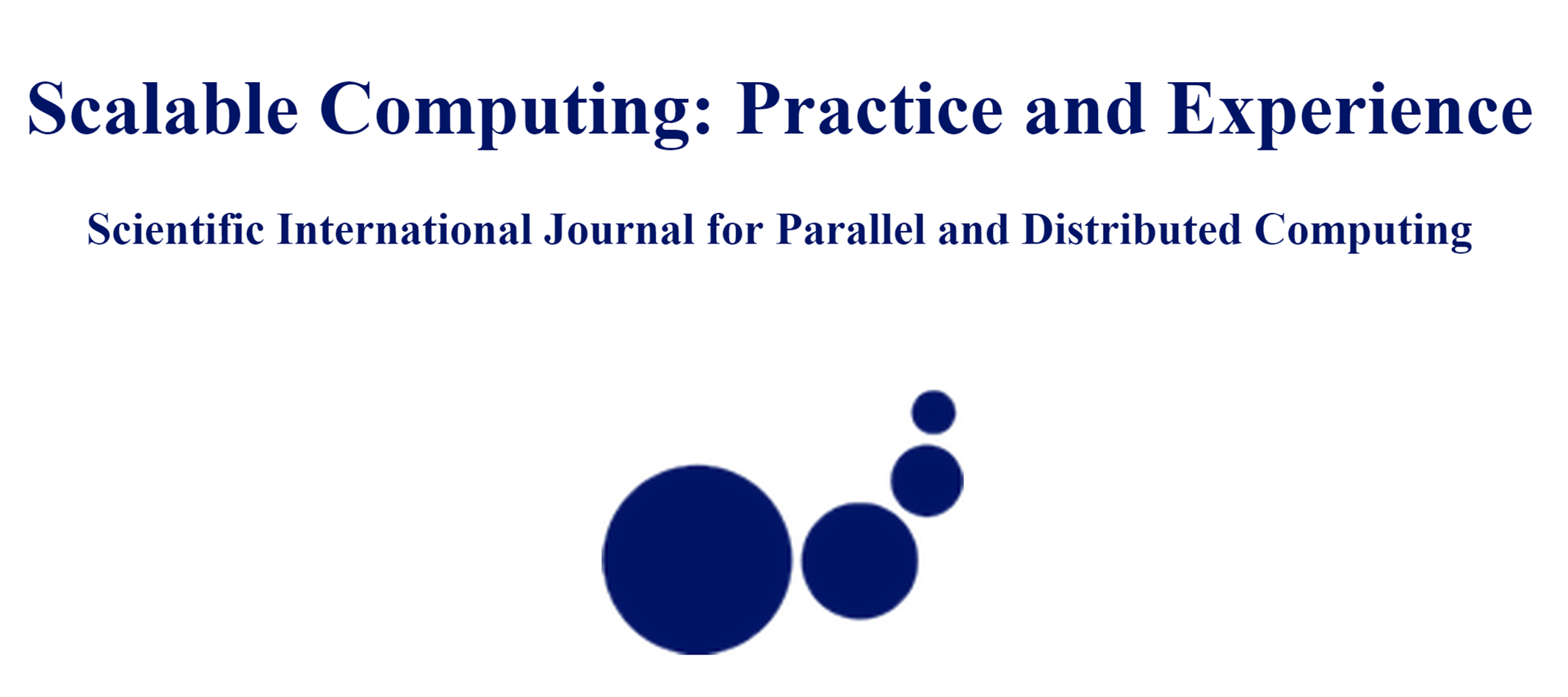 """Scalable Computing: Practice and Experience"" Journal"