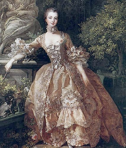 5 baroque and rococo clothing through the ages for Baroque fashion design