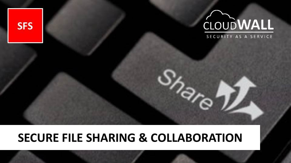 CloudWALL SFS | Secure File Sharing