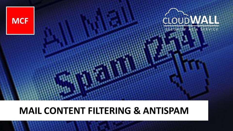 CloudWALL MCF | Mail Content Filtering