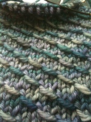 Scale Mitts in Progress