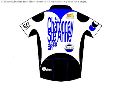 Maillot 2015 dos