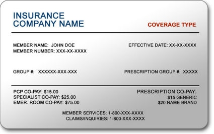 Medicare insurance card example medical card for | dentist that.