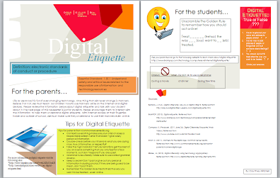 Digital citizenship newsletter mrs mitchells educational the digital citizenship newsletter was created using microsoft publisher or word both programs have newsletter templates available and are able to be spiritdancerdesigns Choice Image