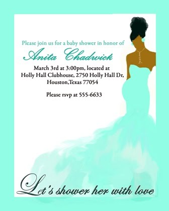 Free African American Baby Shower Invitations