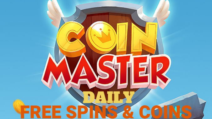 Coin Master free spin and coins