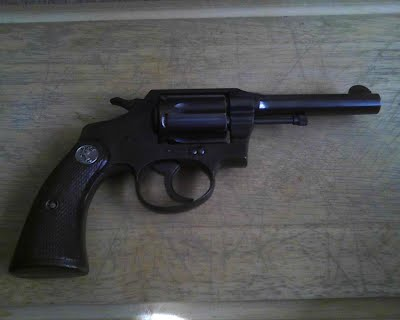 Colt Police Positive Special Disassemble