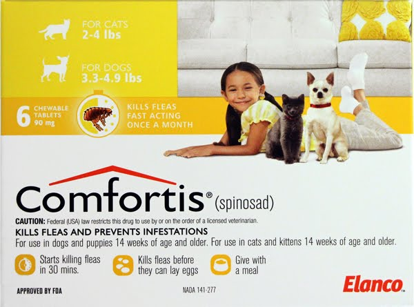 comfortis without prescription rx vet