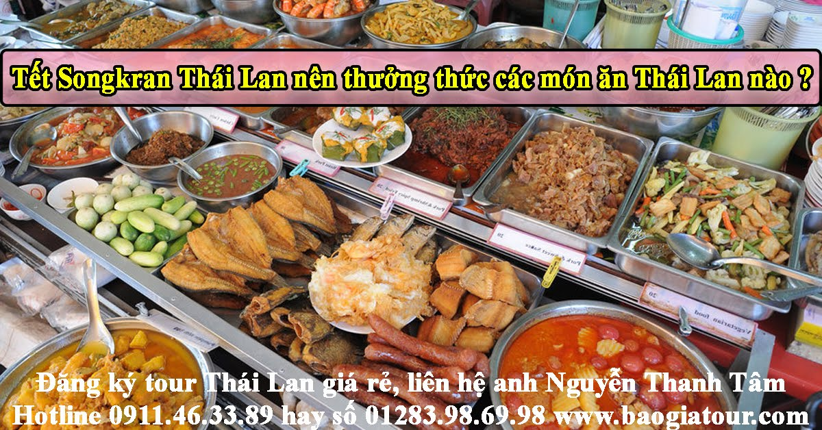 food songkran thailand