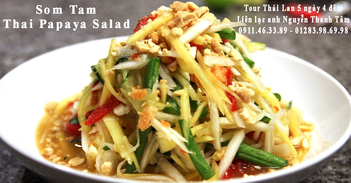 Som Tam Thai Papaya Salad Cong Ty Pacific Travel