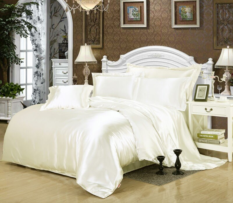 New New arrival Queen King size pcs Imitation silk