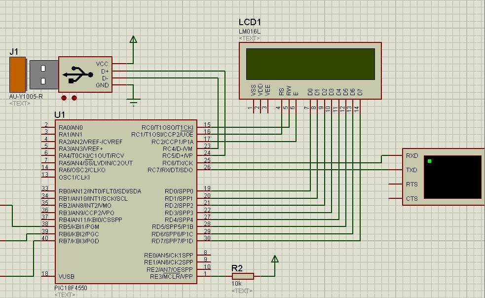 CCS PIC-C LCD - EMBEDDED LABORATORY