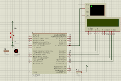 Voltmeter Using RTOS and PIC18F4550 - EMBEDDED LABORATORY