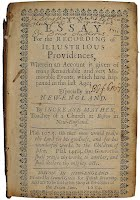 essay for the recording of illustrious providences 1684 Essay for the recording of illustrious providences 1684 hcg or human chorionic gonadotropin is a glycoprotein hormone produced during pregnancy.