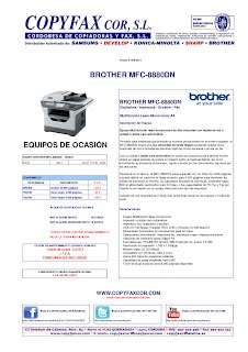 OCASION COPYFAX COR BROTHER MFC-8880DN