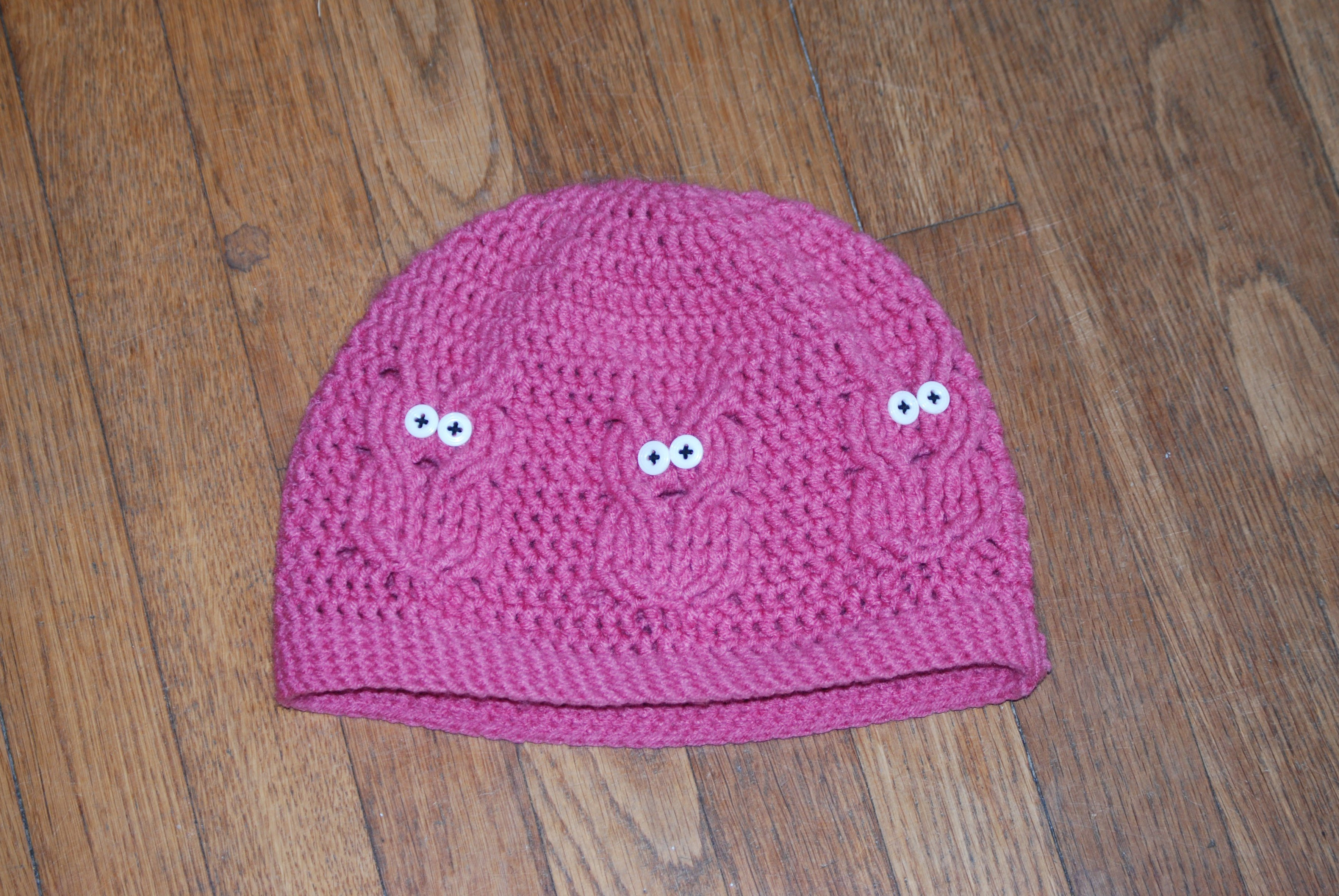This is a free double-crochet worsted-weight ( 4 weight) hat 4ccca3f6c43
