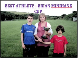 Best Athlete - Brian Minihane Cup